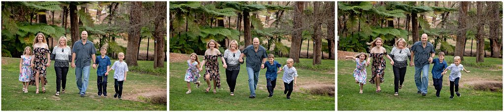 Family photography at Araluen Botanic Park