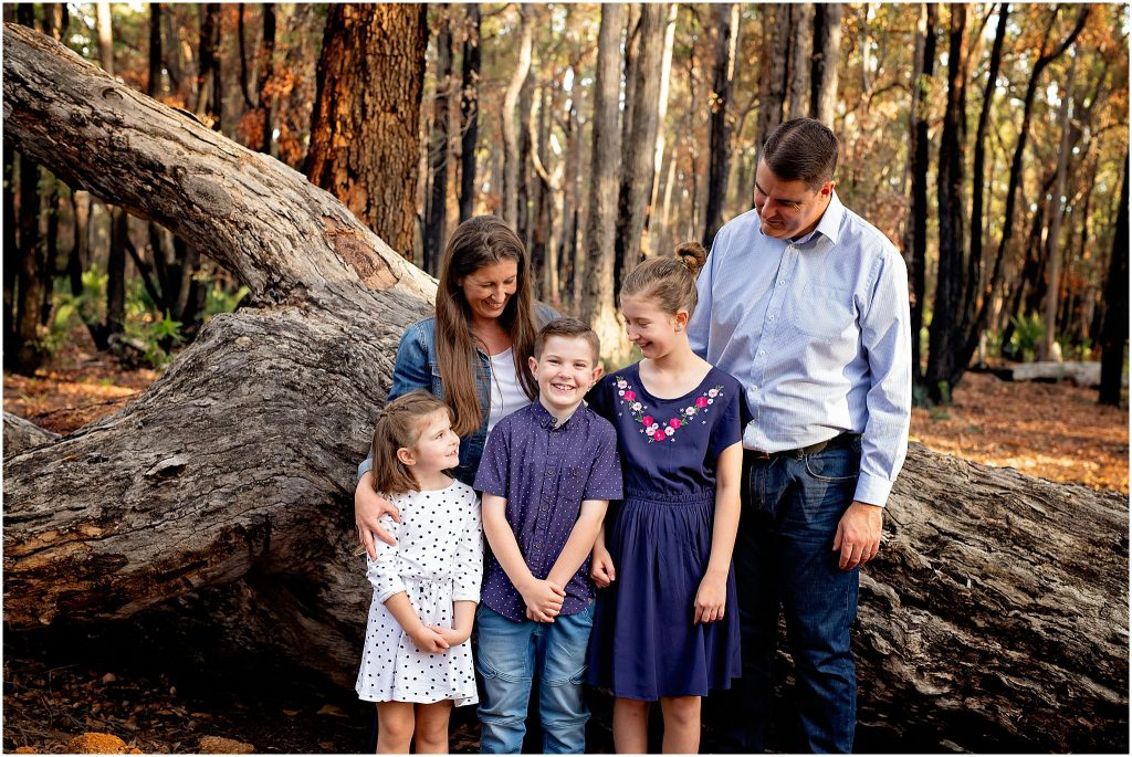 Family photography in Mundaring State Forrest by WhiteJasmin Photography.