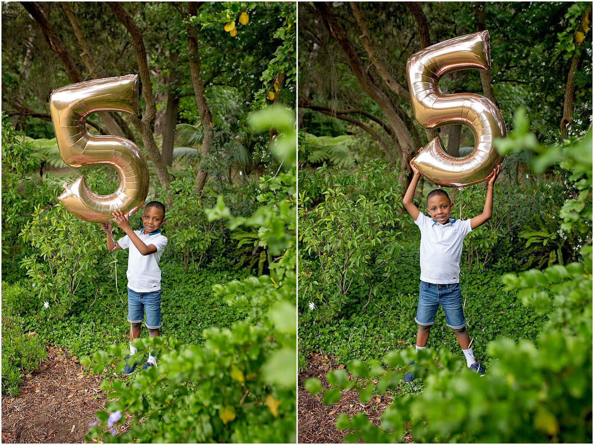 Fifth birthday photo shoot at South Perth.