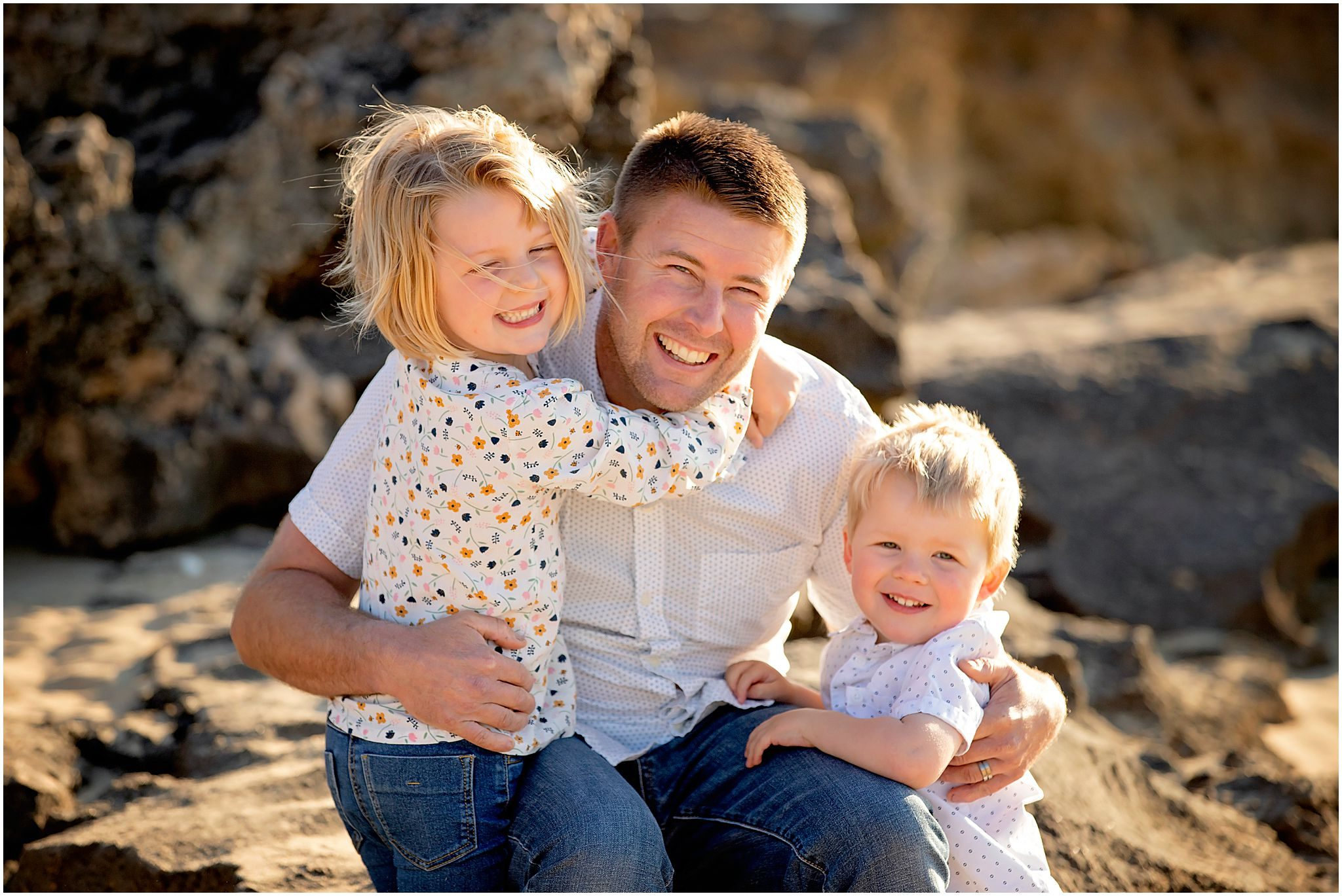 Family photography at Point Peron, Rockingham