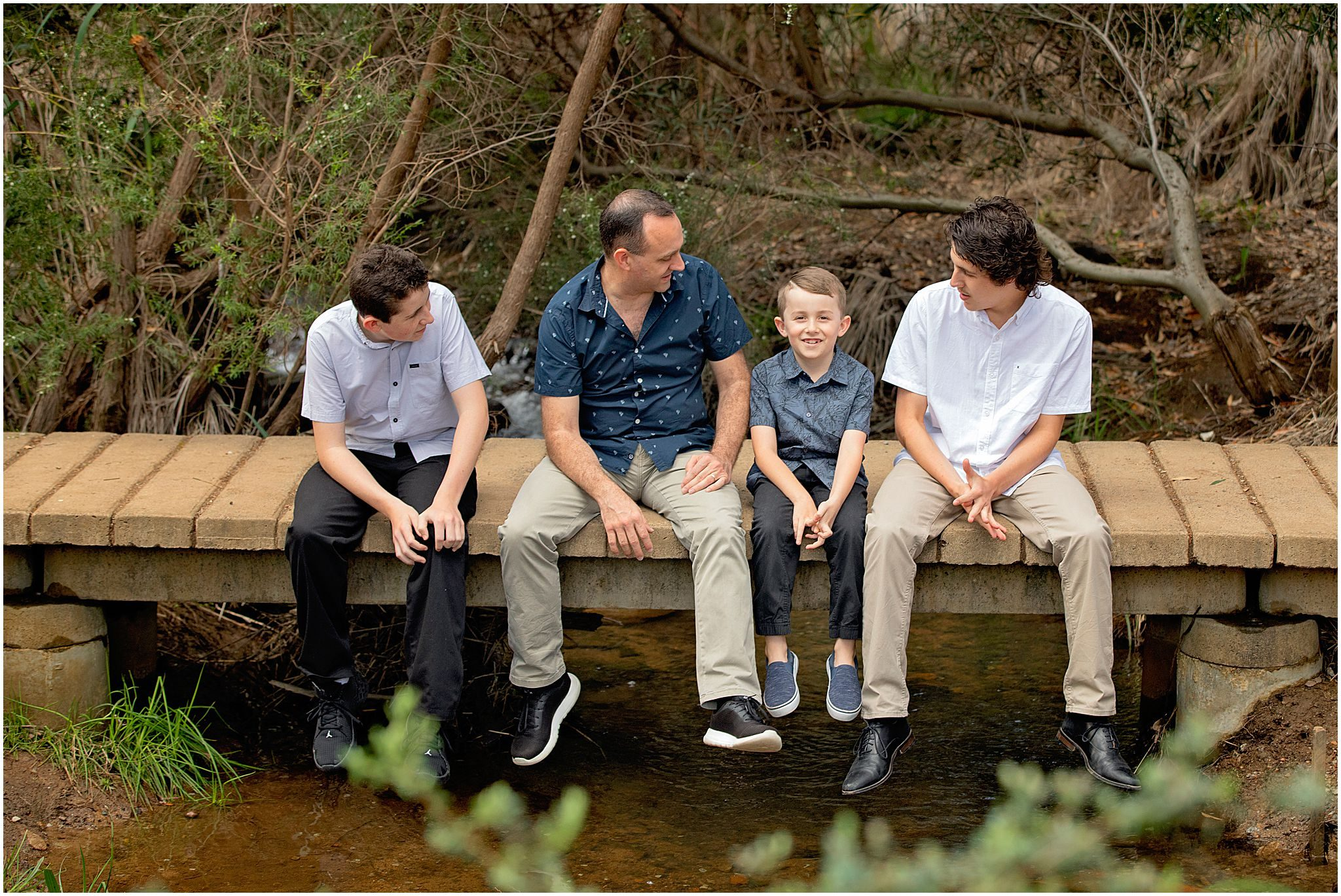 Perth Family Photography at Lesmurdie Falls.