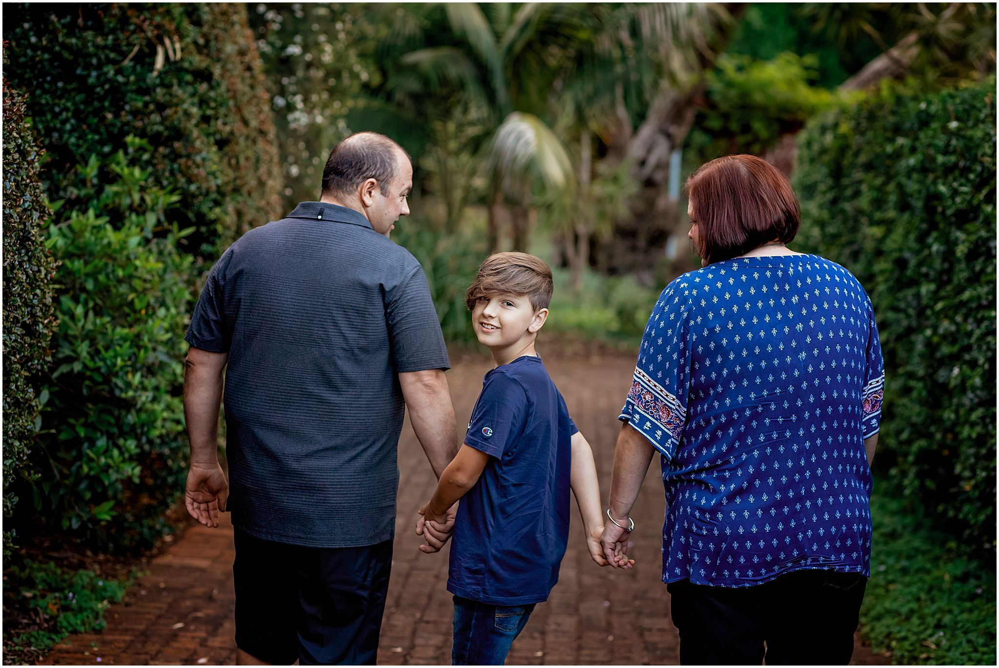 Family photography at South Perth Scented Gardens by WhiteJasmin Photography