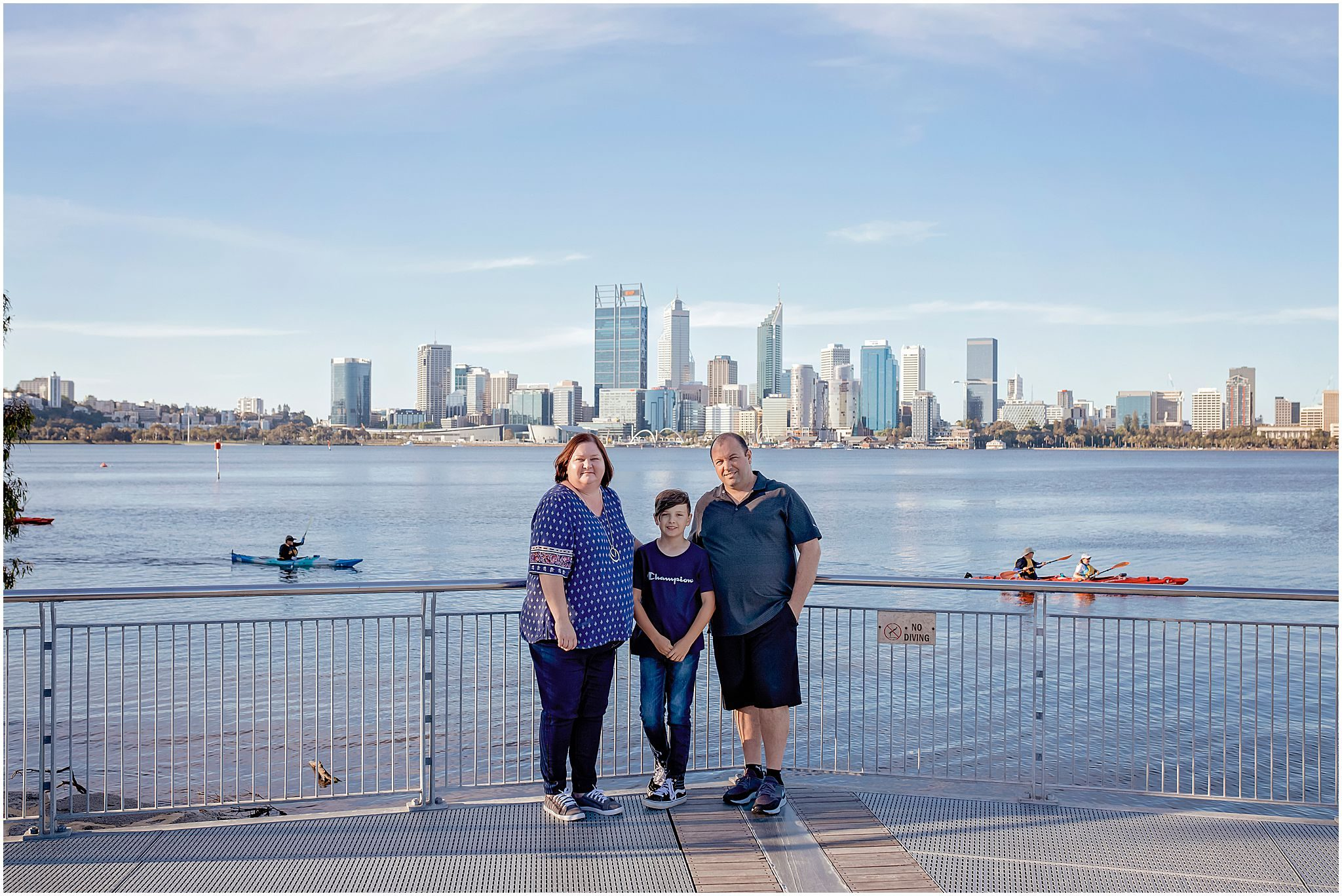 Family photography at South Perth foreshore by WhiteJasmin Photography